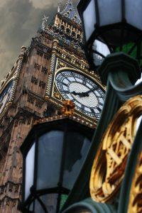 Big ben à Londres (angleterre)