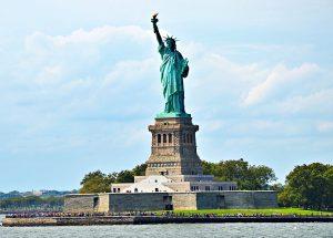 Statue de la liberté aux États-Unis